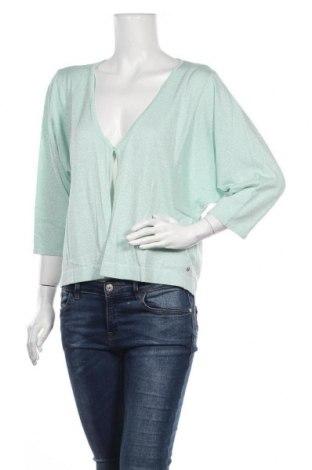 Γυναικεία ζακέτα Guido Maria Kretschmer, Μέγεθος XL, Χρώμα Πράσινο, 43% βαμβάκι, 40% βισκόζη, 10% πολυαμίδη, 7% μεταλλικά νήματα, Τιμή 11,24€