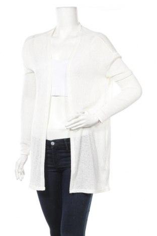 Γυναικεία ζακέτα H&M Divided, Μέγεθος S, Χρώμα Λευκό, 50% βισκόζη, 48% πολυεστέρας, 2% ελαστάνη, Τιμή 5,91€