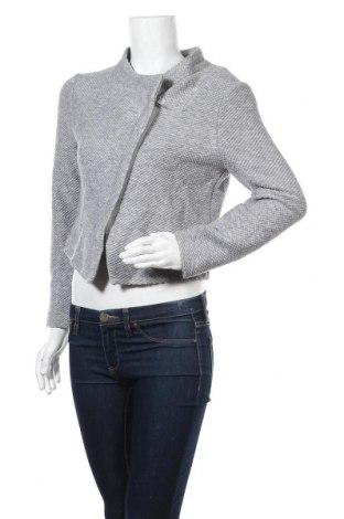 Γυναικεία ζακέτα Hallhuber, Μέγεθος L, Χρώμα Γκρί, 76% πολυακρυλικό, 24% μαλλί, Τιμή 13,41€