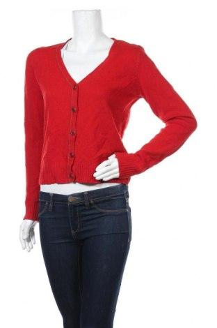 Γυναικεία ζακέτα Marc O'polo, Μέγεθος M, Χρώμα Κόκκινο, Μαλλί, Τιμή 30,53€