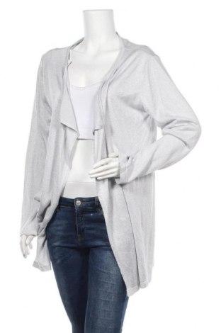 Γυναικεία ζακέτα Milano Italy, Μέγεθος XL, Χρώμα Ασημί, Τιμή 6,00€
