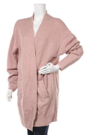 Γυναικεία ζακέτα Soya Concept, Μέγεθος XXL, Χρώμα Ρόζ , 50%ακρυλικό, 30% πολυαμίδη, 15% μαλλί, 5% ελαστάνη, Τιμή 18,19€