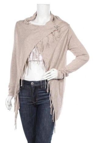Γυναικεία ζακέτα Up 2 Fashion, Μέγεθος S, Χρώμα  Μπέζ, 60% βισκόζη, 40% βαμβάκι, Τιμή 5,91€
