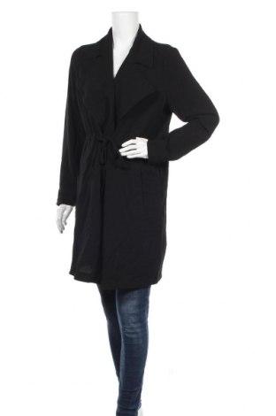 Дамско палто Vero Moda, Размер L, Цвят Черен, Полиестер, Цена 15,46лв.
