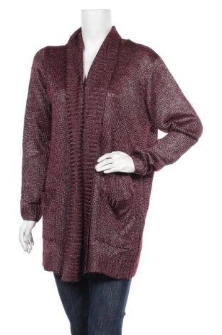 Дамска жилетка Vrs Woman, Размер XL, Цвят Лилав, 49% акрил, 39% полиестер, 12% вълна, Цена 9,66лв.