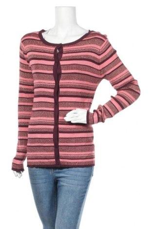 Дамска жилетка Vrs Woman, Размер XL, Цвят Розов, 70% вискоза, 20% полиамид, 10% метални нишки, Цена 8,79лв.