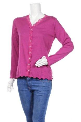 Γυναικεία ζακέτα Woman By Tchibo, Μέγεθος L, Χρώμα Ρόζ , 95% βαμβάκι, 5% ελαστάνη, Τιμή 5,68€