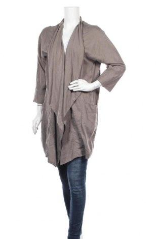 Дамска жилетка Zara, Размер S, Цвят Сив, Цена 13,70лв.