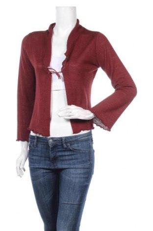 Γυναικεία ζακέτα Zero, Μέγεθος S, Χρώμα Κόκκινο, 73%ακρυλικό, 15% μαλλί, 12% πολυαμίδη, Τιμή 5,23€