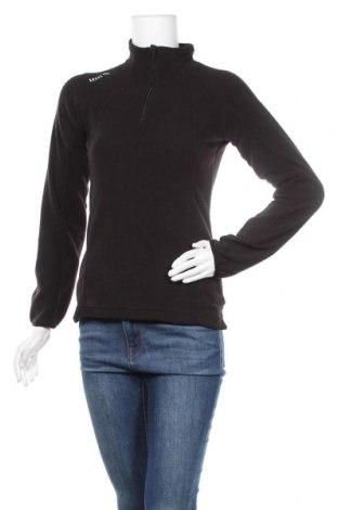 Γυναικεία μπλούζα fleece Izas, Μέγεθος S, Χρώμα Μαύρο, Πολυεστέρας, Τιμή 8,84€