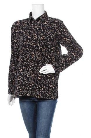 Дамска риза, Размер M, Цвят Черен, Памук, Цена 18,90лв.