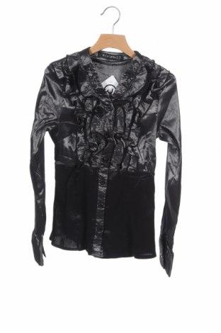 Дамска риза, Размер XS, Цвят Сив, Цена 4,57лв.