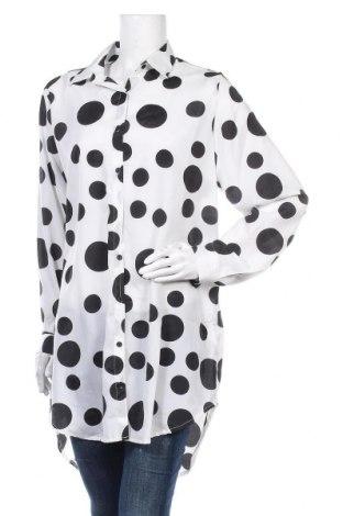 Γυναικείο πουκάμισο Alcott, Μέγεθος M, Χρώμα Λευκό, Πολυεστέρας, Τιμή 17,78€