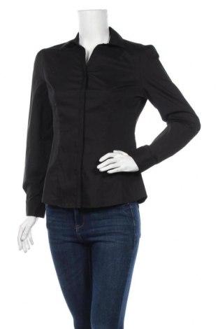 Дамска риза Atmosphere, Размер S, Цвят Черен, 76% полиестер, 21% памук, 3% еластан, Цена 11,34лв.