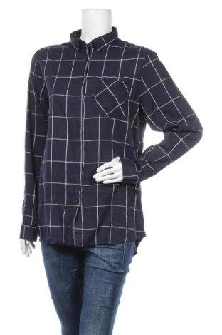 Дамска риза Best Mountain, Размер M, Цвят Син, 55% памук, 45% вискоза, Цена 20,65лв.