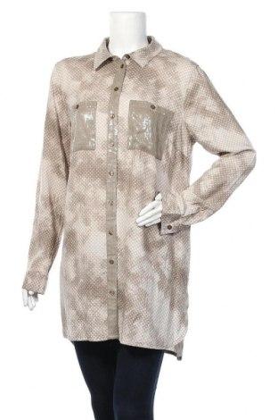 Дамска риза Boysen's, Размер L, Цвят Бежов, Вискоза, Цена 10,71лв.