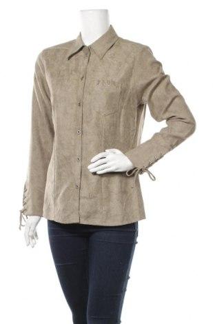 Дамска риза Canda, Размер M, Цвят Зелен, Полиестер, Цена 6,72лв.