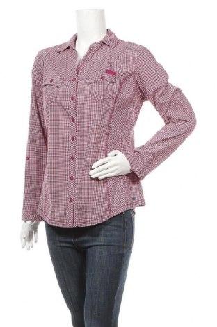 Дамска риза Cecil, Размер L, Цвят Червен, 61% памук, 35% полиестер, 4% еластан, Цена 11,34лв.