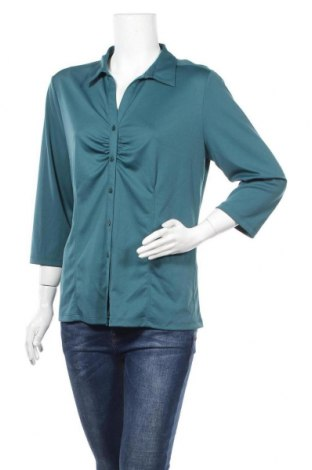 Дамска риза Charles Vogele, Размер L, Цвят Зелен, Цена 15,75лв.