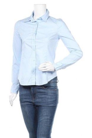 Дамска риза Chicoree, Размер XS, Цвят Син, 97% памук, 3% еластан, Цена 35,91лв.