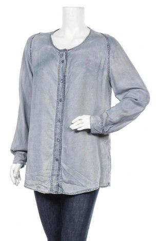 Дамска риза Closed, Размер XL, Цвят Син, 100% лиосел, Цена 30,71лв.