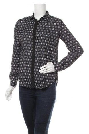 Дамска риза Desigual, Размер S, Цвят Черен, Полиестер, Цена 46,87лв.