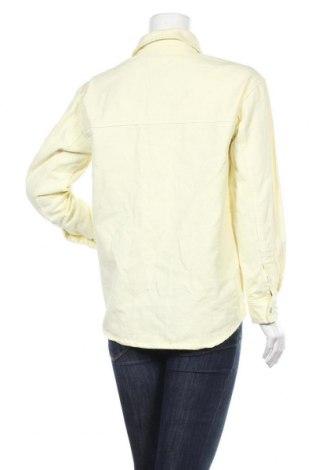 Дамска риза Edited, Размер XS, Цвят Жълт, Памук, Цена 16,72лв.