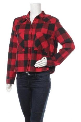 Дамска риза Eleven Paris, Размер M, Цвят Червен, Памук, Цена 31,15лв.