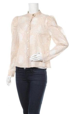 Дамска риза Fashion Union, Размер L, Цвят Розов, 48% полиамид, 26% памук, 26% вискоза, Цена 22,36лв.