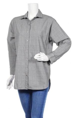 Дамска риза Gestuz, Размер S, Цвят Сив, 100% памук, Цена 14,40лв.