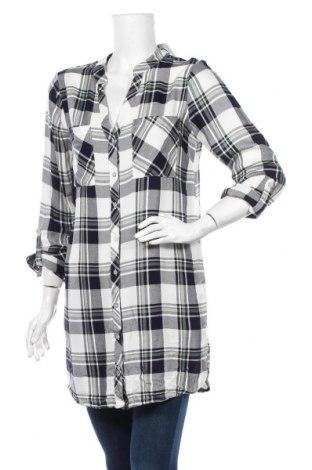 Дамска риза Gina, Размер M, Цвят Черен, Вискоза, Цена 25,20лв.