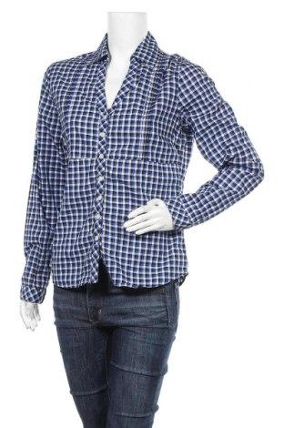 Дамска риза Gina, Размер M, Цвят Многоцветен, 100% памук, Цена 9,24лв.