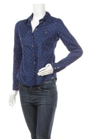 Дамска риза H&M L.O.G.G., Размер S, Цвят Син, 100% памук, Цена 15,12лв.