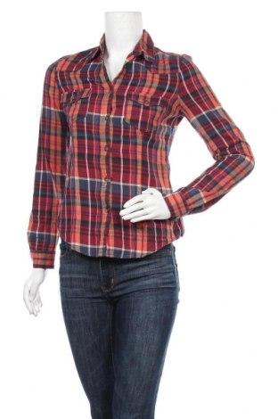 Дамска риза H&M L.O.G.G., Размер XS, Цвят Многоцветен, Памук, Цена 9,92лв.