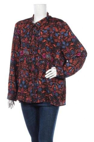 Дамска риза Irl, Размер M, Цвят Многоцветен, Полиестер, Цена 22,36лв.