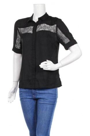 Дамска риза Irl, Размер M, Цвят Черен, Полиестер, Цена 31,54лв.