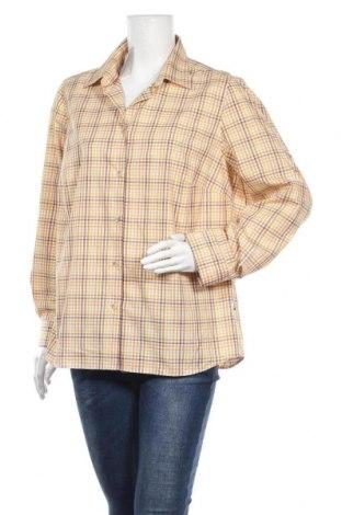 Дамска риза Klepper, Размер XL, Цвят Многоцветен, 56% памук, 44% полиестер, Цена 11,34лв.