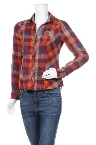 Дамска риза Mexx, Размер S, Цвят Многоцветен, 99% памук, 1% метални нишки, Цена 6,62лв.