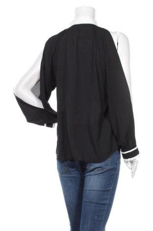 Дамска риза New Laviva, Размер L, Цвят Черен, 60% полиестер, 40% памук, Цена 22,42лв.