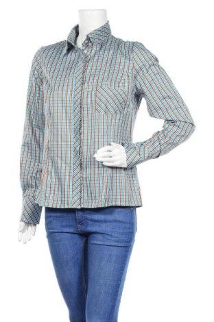 Дамска риза Nife, Размер L, Цвят Многоцветен, 60% памук, 40% полиестер, Цена 17,15лв.
