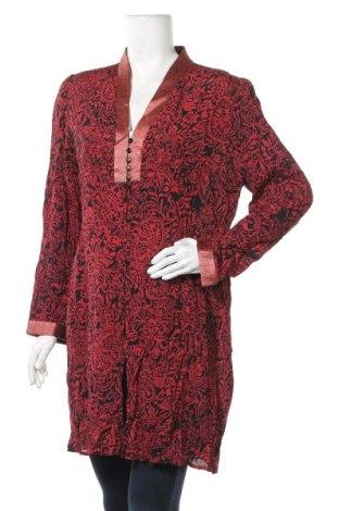 Dámská košile  Nitya, Velikost L, Barva Červená, Viskóza, Cena  426,00Kč