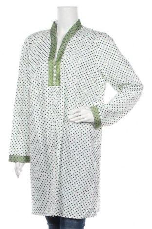 Дамска риза Nitya, Размер XL, Цвят Бял, Памук, Цена 33,58лв.