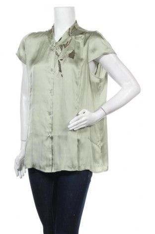 Дамска риза Nitya, Размер XL, Цвят Зелен, Полиестер, Цена 31,60лв.