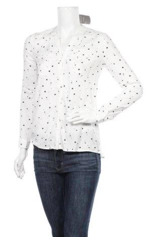 Дамска риза ONLY, Размер XS, Цвят Бял, Вискоза, Цена 24,30лв.