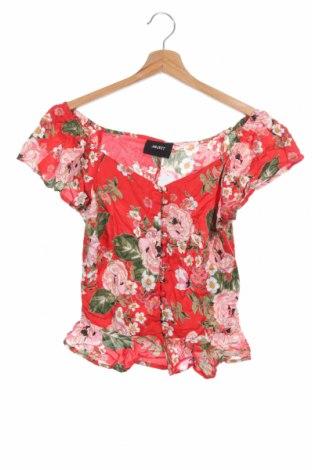 Дамска риза Object, Размер XS, Цвят Червен, Вискоза, Цена 30,42лв.
