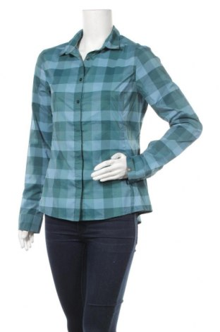 Дамска риза Odlo, Размер M, Цвят Син, 97% памук, 3% еластан, Цена 35,55лв.