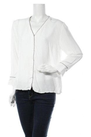 Дамска риза Rich & Royal, Размер L, Цвят Бял, Вискоза, Цена 36,90лв.