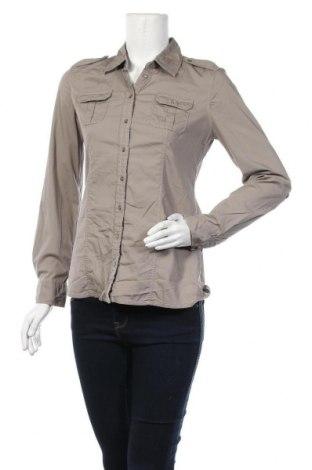 Дамска риза S.Oliver, Размер S, Цвят Кафяв, 97% памук, 3% еластан, Цена 15,96лв.