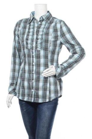 Дамска риза Street One, Размер M, Цвят Многоцветен, 65% памук, 32% полиамид, 3% еластан, Цена 11,60лв.