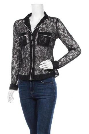 Дамска риза Tally Weijl, Размер L, Цвят Черен, Полиамид, Цена 5,07лв.